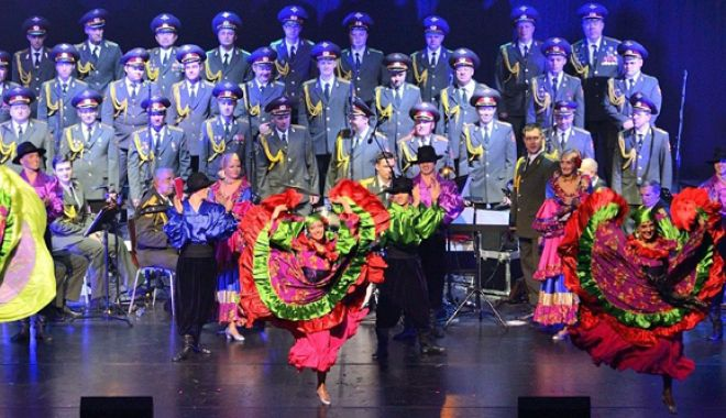 Foto: Vin ruşii! Legendarul ansamblu The Red Guard Choir, turneu în România