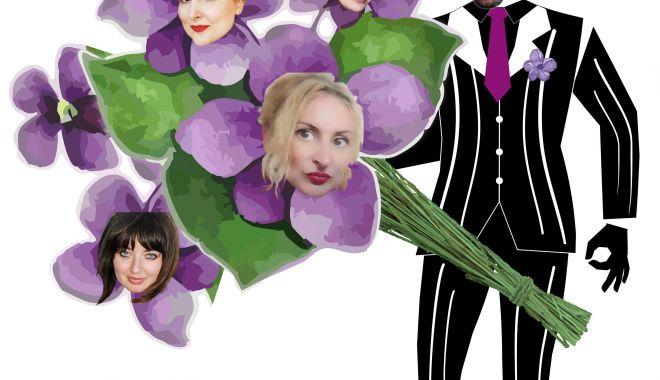 """Foto: """"Violete pentru fete"""". Melodii cu parfum de epocă, la Teatrul """"Oleg Danovski"""""""