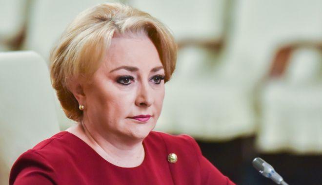 """Foto: Viorica Dăncilă: """"Fiecare are dreptul la proteste"""""""
