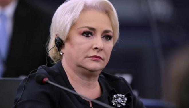 Foto: Premierul Viorica Dăncilă participă la o şedinţă a liderilor coaliţiei la Parlament