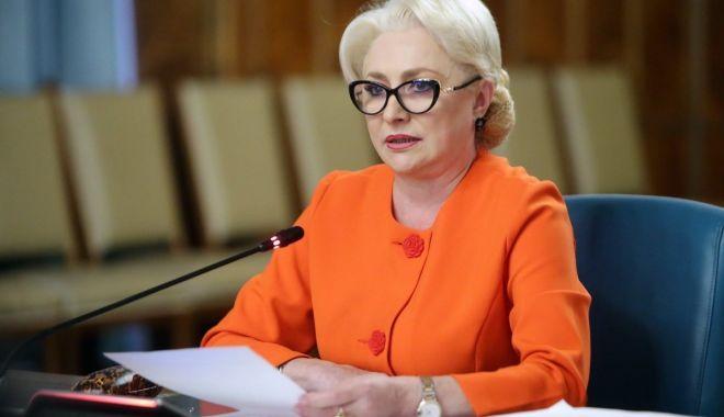 """Foto: Viorica Dăncilă: """"Ne asumăm în continuare actul guvernării"""""""