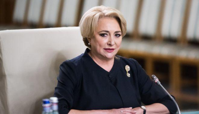 Foto: Viorica Dăncilă: Klaus Iohannis va respinge numirile Olguţei Vasilescu la Dezvoltare şi a lui Mircea Drăghici la Transporturi