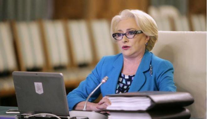 Foto: Dăncilă: Pensiile şi salariile nu vor fi îngheţate