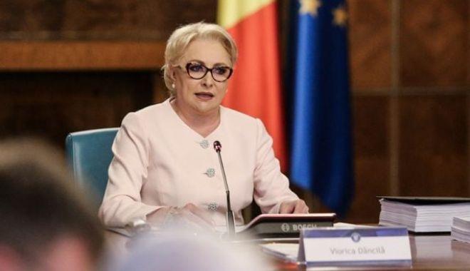 Foto: Viorica Dăncilă, înaintea discuţiilor de la Palatul Victoria pe tema OUG 7: Nu renunţăm la Ordonanţă