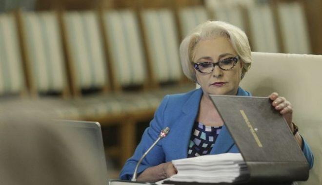 Foto: Guvernul s-a reunit în şedinţă. Viorica Dăncilă nu a anunțat o OUG pe justiție