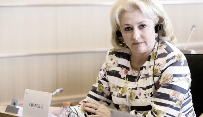 Foto: PSD merge pe mâna unei femei la conducerea Guvernului. Viorica Dăncilă, propunerea de premier