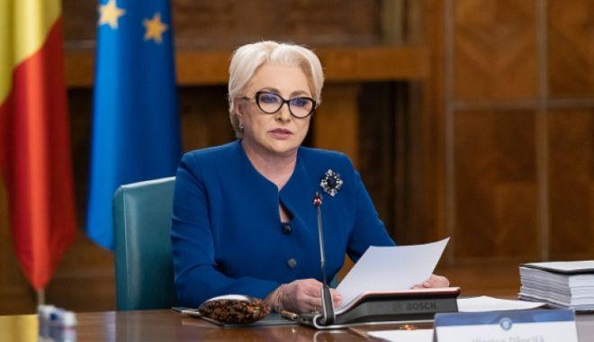 Foto: Viorica Dăncilă: Voi vota pentru referendum, sunt un susţinător al statului de drept