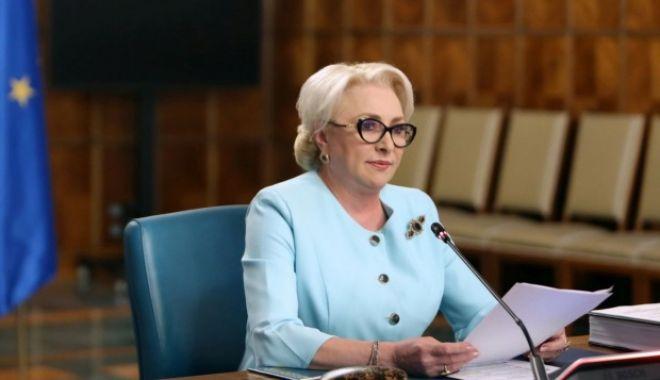 Foto: Viorica Dăncilă: Dacă partidul îmi va cere, voi candida la prezidenţiale