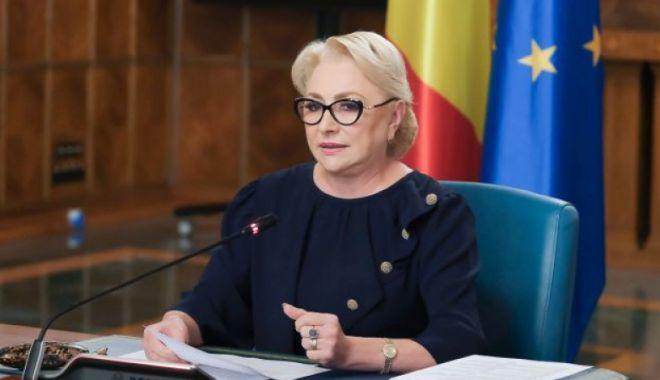 Foto: Viorica Dăncilă vrea să convoace Comitetul Executiv al partidului. Iată când