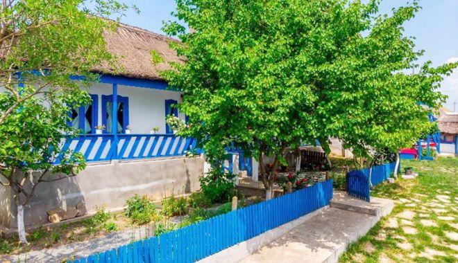 Foto: Casa de la Vişina păstrează între pereţii săi memoria satului dobrogean