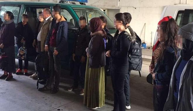 Foto: Visul imigranţilor, de a ajunge în vestul Europei, spulberat la Constanţa