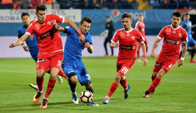 Foto: FC Viitorul - Dinamo, scor 0-0, în play-off