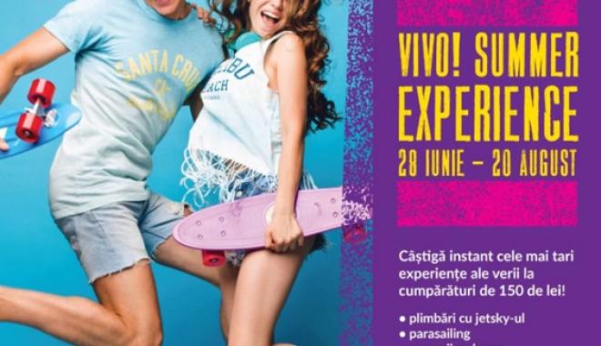Foto: Summer Experience la VIVO! Constanţa. Premii pentru cumpărături