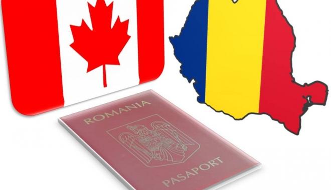 Foto: Românii, fără vize în Canada. Belgia şi-a dat acordul pentru CETA