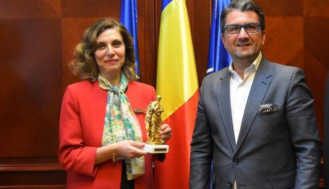 Foto: Ambasadorul Turciei, vizită la Primăria Constanța