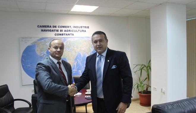Foto: Firmele din Bosnia şi Herţegovina, interesate de companii din judeţul Constanţa