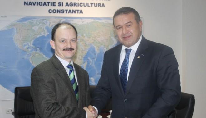 Foto: Reprezentant al Ambasadei Republicii Belarus în România, în vizită la Camera de Comerţ Constanţa