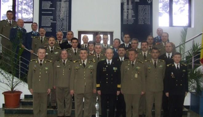 Foto: Vizită la Statul Major al Forţelor Navale