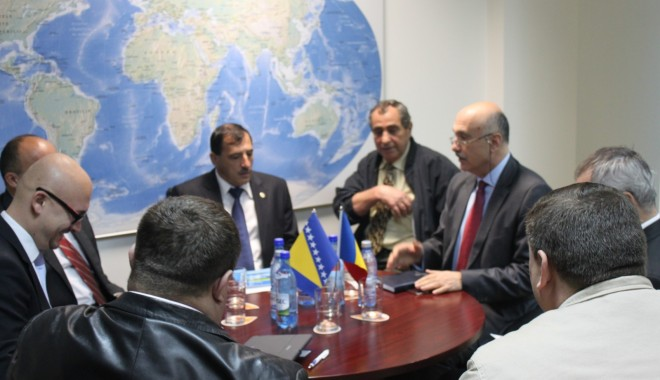 Foto: Reprezentanţi ai Rafinăriei Modriča, din Bosnia-Herzegovina, în vizită la CCINA