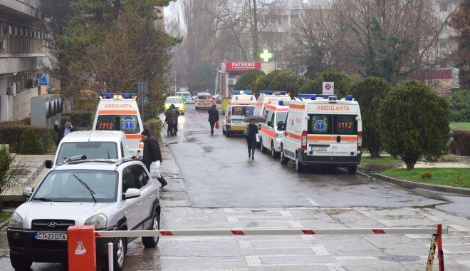 Foto: A fost interzis accesul vizitatorilor în Spitalul Județean Constanța