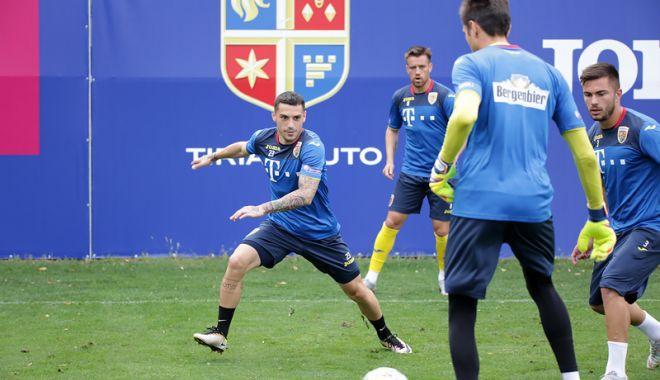 Foto: Vlad Chiricheş crede  în şansele Naţionalei,  în dubla cu Muntenegru  şi Serbia