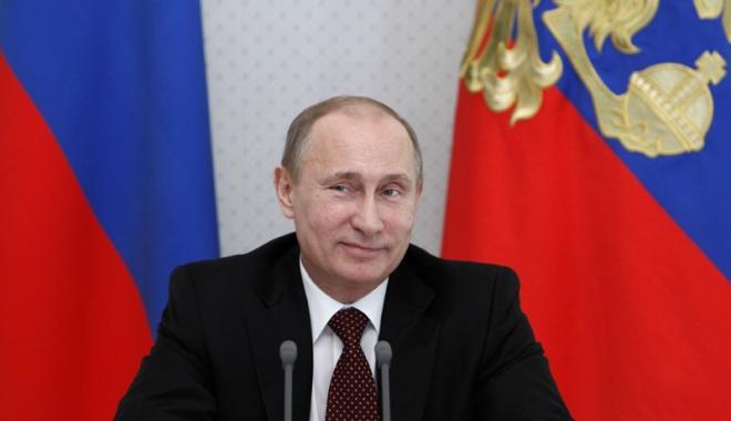 Foto: Vladimir Putin  a promulgat legea care desemnează entități media  ca agenți străini