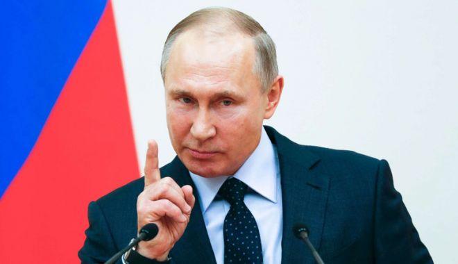 """Foto: Vladimir Putin, ameninţător:  """"Războiul va continua în estul Ucrainei!"""""""