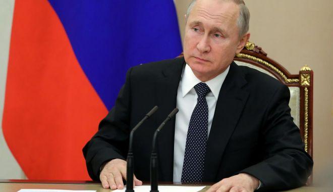 Foto: Vladimir Putin s-a pronunţat împotriva unor noi sancţiuni ruseşti împotriva Georgiei