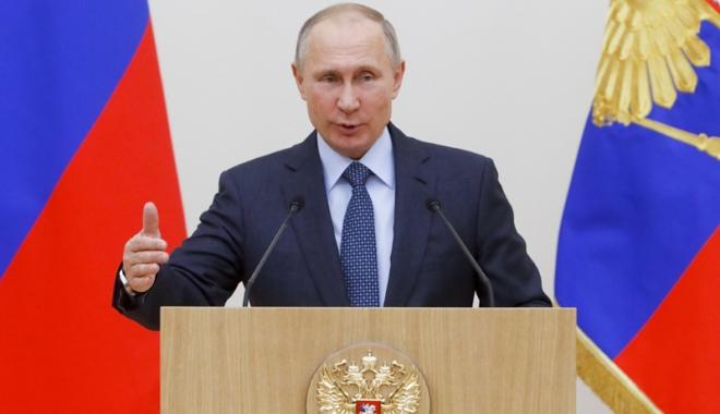 Foto: Putin va candida ca independent la prezidenţialele din 2018