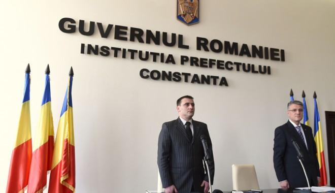 Foto: Radu Volcinschi este noul prefect al Constan�ei. Ce �i propune pentru 2014
