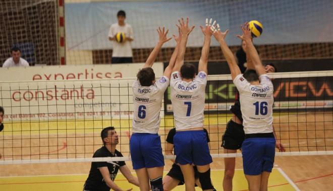 Foto: CVM Tomis, două victorii în turneul semifinalelor Diviziei A1