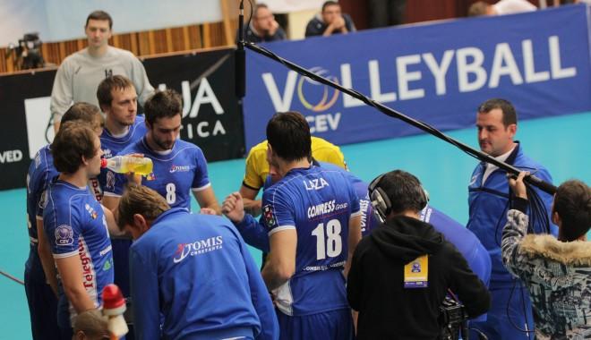 Foto: CVM Tomis şi-a reintrat în ritm odată cu victoria în faţa Clujului