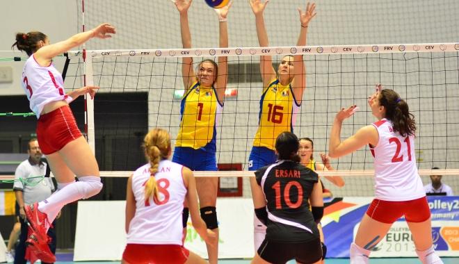 Foto: Volei feminin / Echipa României s-a calificat la Campionatul European Under-18