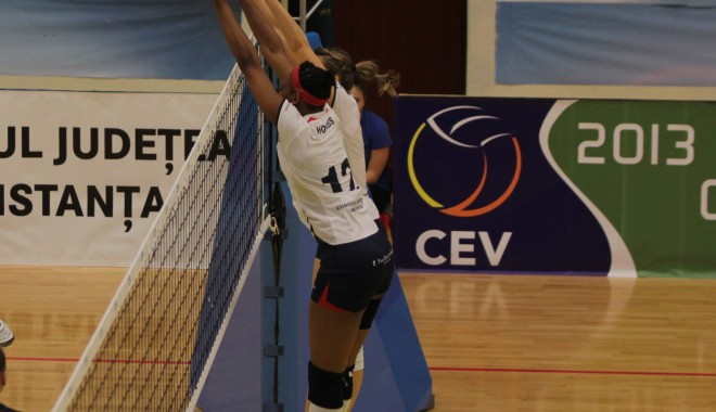 Foto: Volei / CSV 2004 Tomis a câştigat al doilea meci cu Bacău