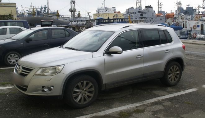 Foto: Volkswagen furat din Franţa, descoperit la Constanţa