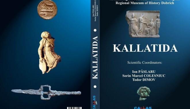 Foto: Volum de 370 de pagini, dedicat istoriei cetăţii Callatis