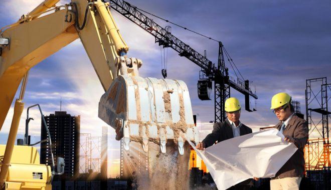 Foto: Volumul lucrărilor  de construcții e în declin