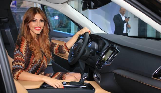 Foto: Ilinca Vandici te invită la test cu noul Volvo XC 90. Cum a fost lansarea de la Constanţa
