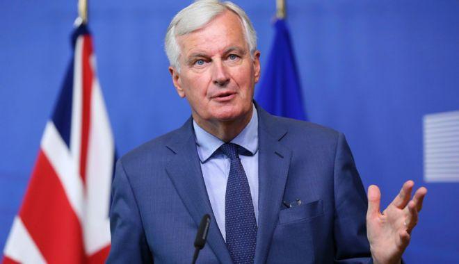 """Foto: Michel Barnier:  """"Vom rămâne parteneri şi prieteni cu Marea Britanie după Brexit"""""""