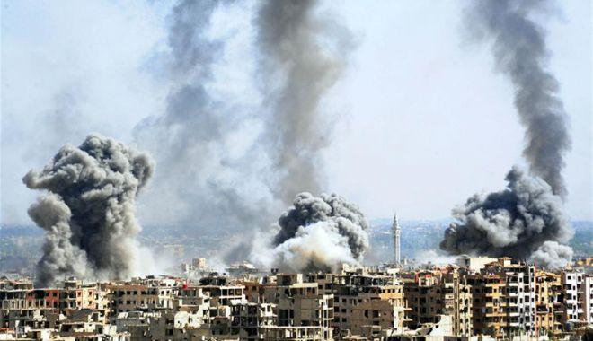 """Foto: """"Vor fi consecinţe grave în cazul unor atacuri aeriene occidentale în Siria"""""""