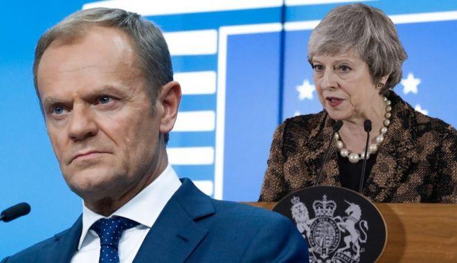 """Foto: """"Votul negativ al parlamentarilor britanici a crescut riscurile unui Brexit fără acord"""""""
