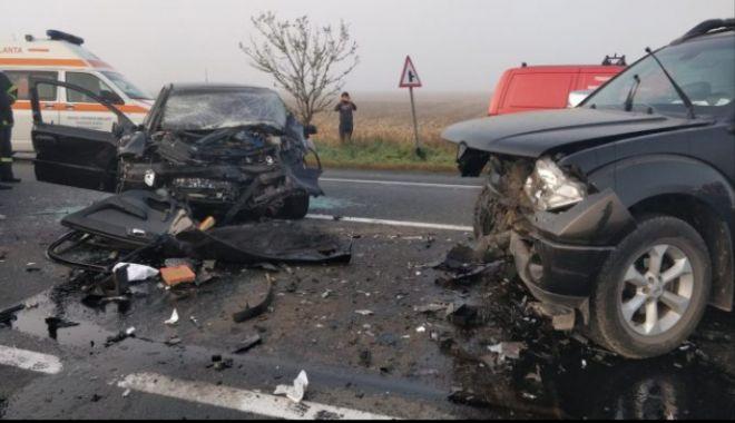 Accident cu patru victime, pe