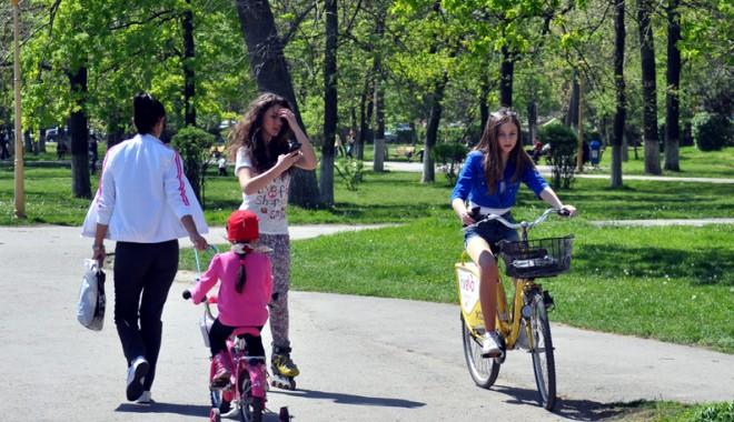 Foto: Vreme din ce în ce mai caldă, la Constanţa