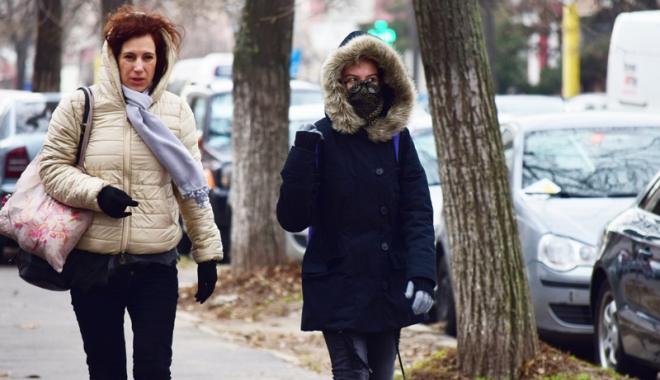 Foto: Vreme deosebit de rece, astăzi, la Constanţa