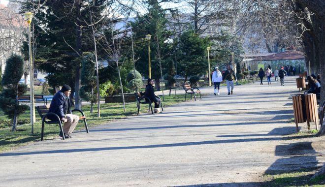 Foto: Primăvară la început de februarie,  la Constanţa