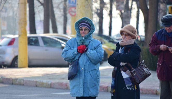 Foto: Vreme închisă  şi frig, la Constanţa