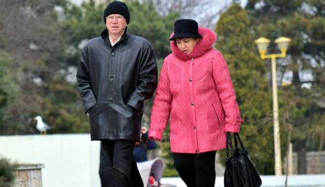 Foto: Vreme rece şi instabilă, în week-end, la Constanţa