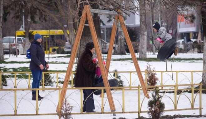 Foto: De astăzi începe să se încălzească la Constanţa