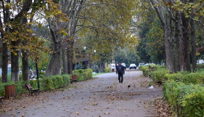 Foto: Vreme rece, astăzi,  la Constanţa.  De mâine avem  din nou 20 de grade