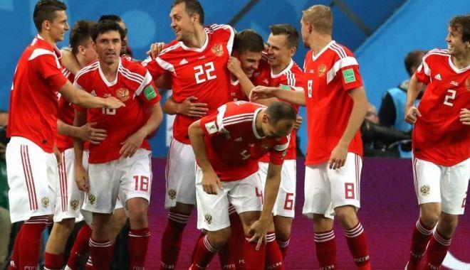 Foto: CM 2018. Rusia, prima echipă calificată în optimi, după 3-1 cu Egipt